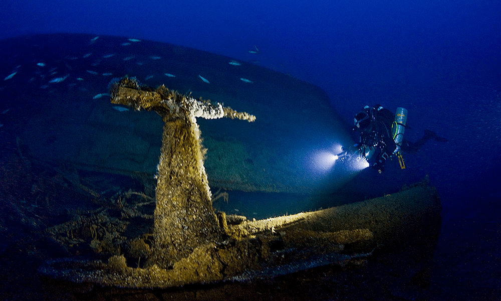 How Deep Is Deep The 20 Deepest Tech Shipwreck Dives And How They Images, Photos, Reviews