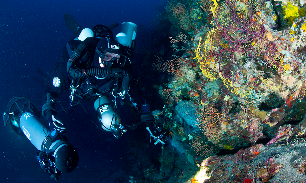 Dive, Learn, Eat: Rebreather Meeting in Italy - InDepth