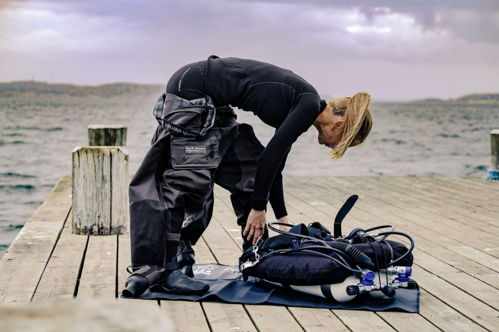 drysuit undergarments