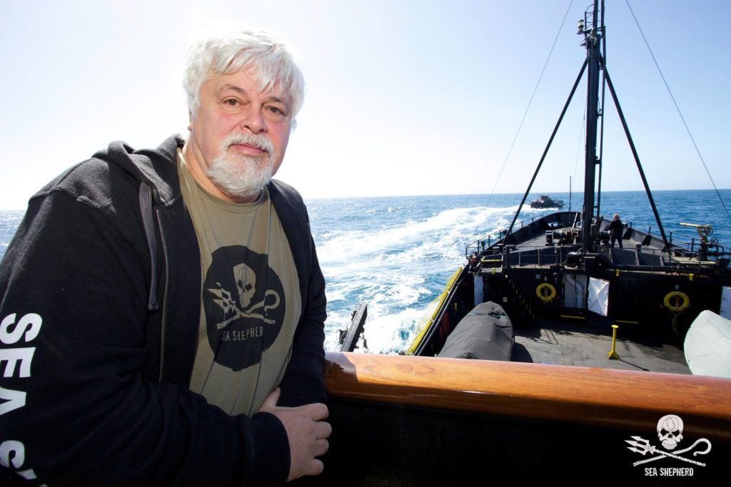 Paul Watson from Sea Shepherd